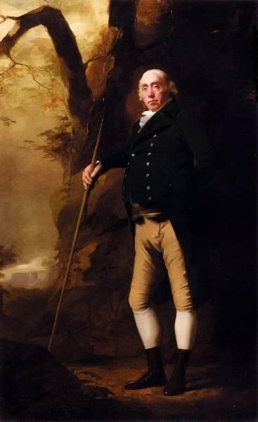 Portrait Of Alexander Keith Of Ravelston Midlothian